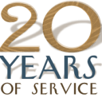 Twenty years of service
