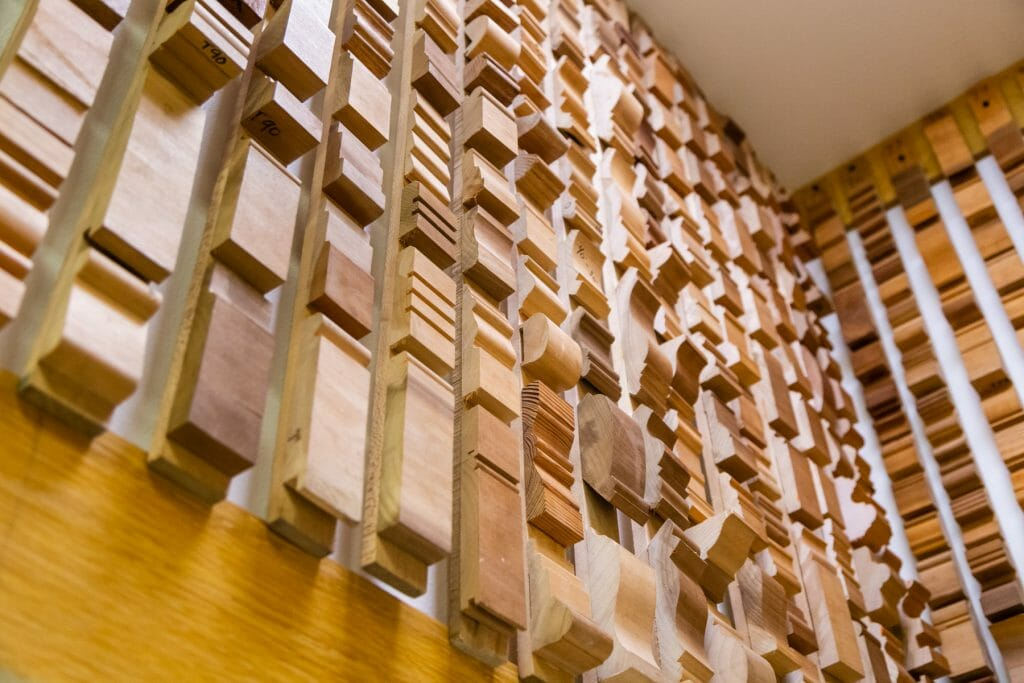 wall of moulding 1